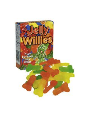 Jelly Willies - voćni gumeni bomboni, 150g.