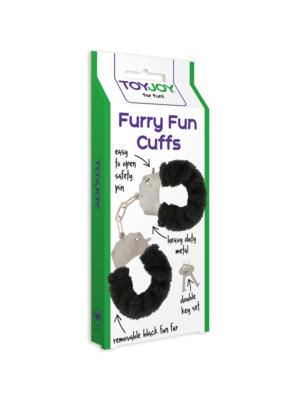 Furry Fun Cuffs Black