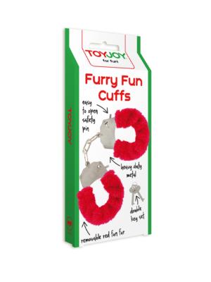Furry Fun Cuffs Red