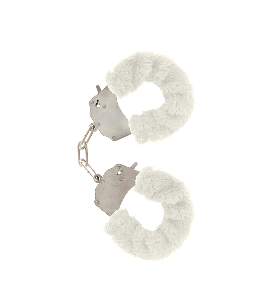 Furry Fun Cuffs White