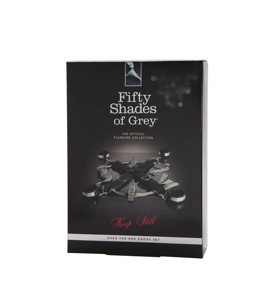 50 Shades Keep Still Set - set za vezanje oko kreveta