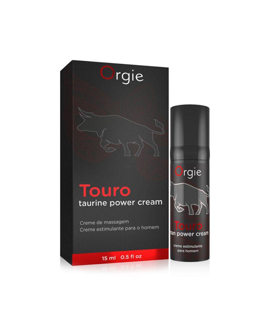 Orgie Touro Gel - gel za muškarce za intenzivniju erekciju, 15 ml