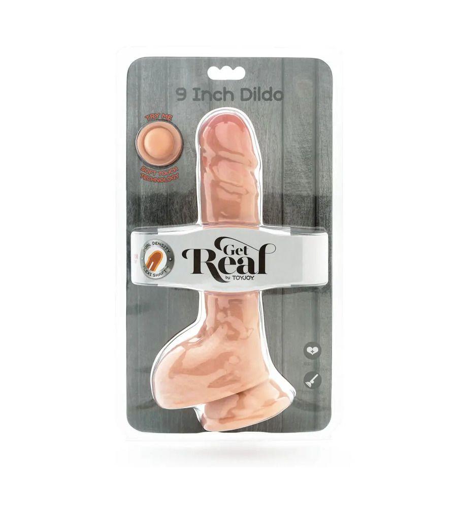 Get Real Dual Density 9'' - Dildo, TPE, 23 cm