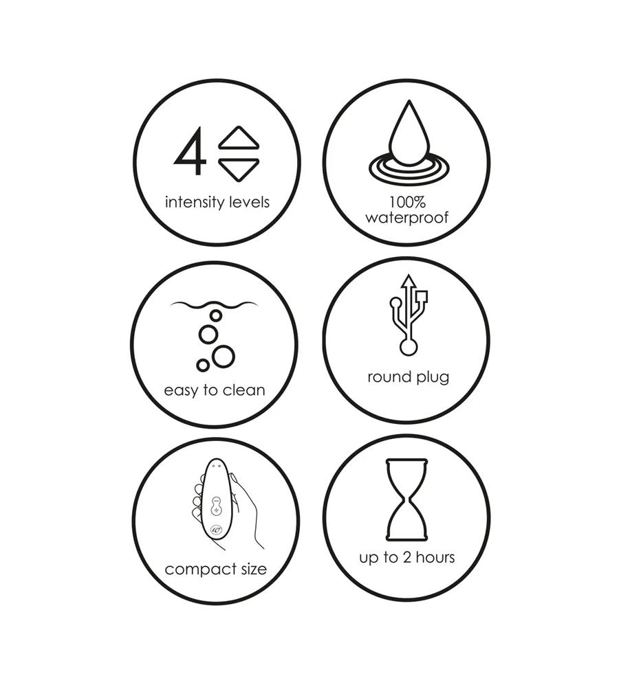 Womanizer Starlet 2 - zračni masažer klitorisa