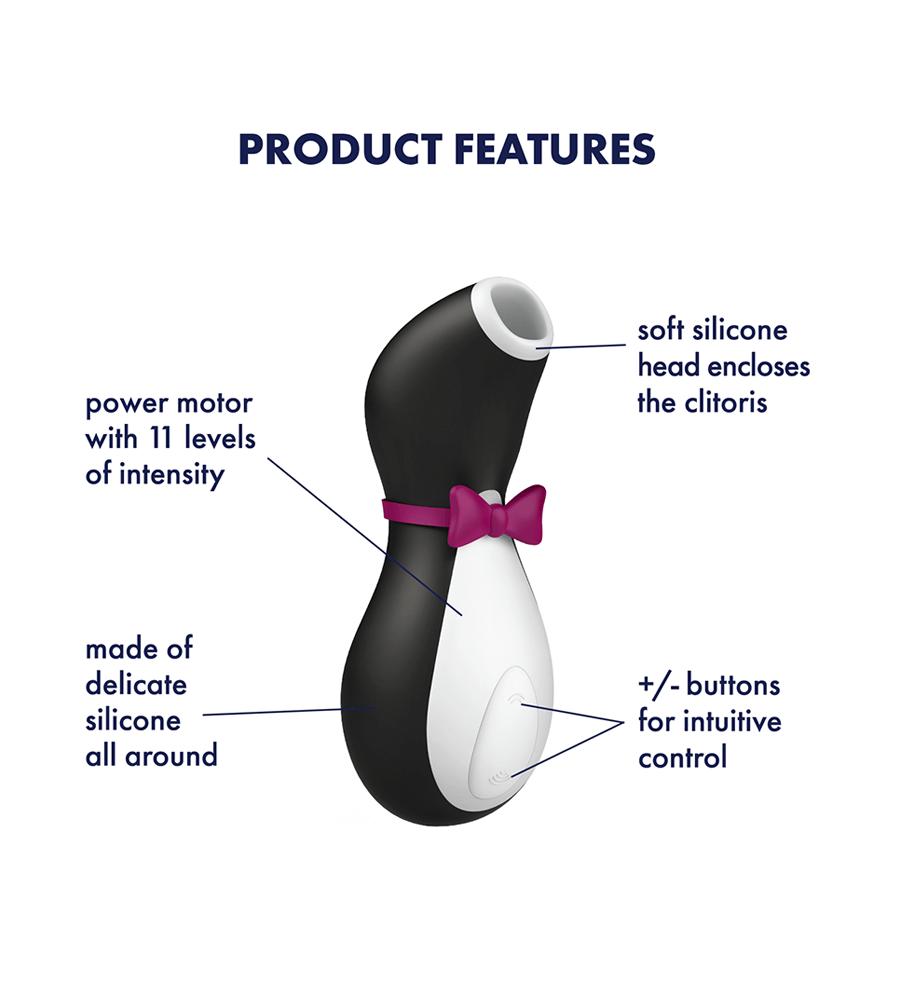 Satisfyer Pro Penguin Black