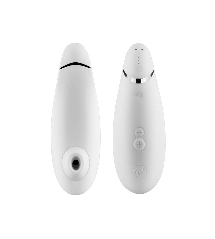Womanizer Premium White- zračni masažer klitorisa
