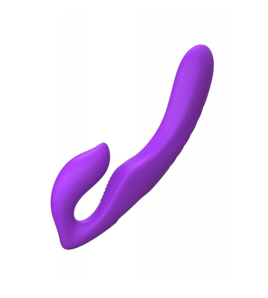 Her Strapless Strap-On - dvostruki dildo, 22,2 cm