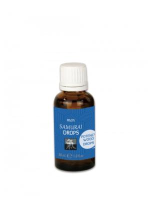 Samurai Drops - kapi za muškarce, 30 ml
