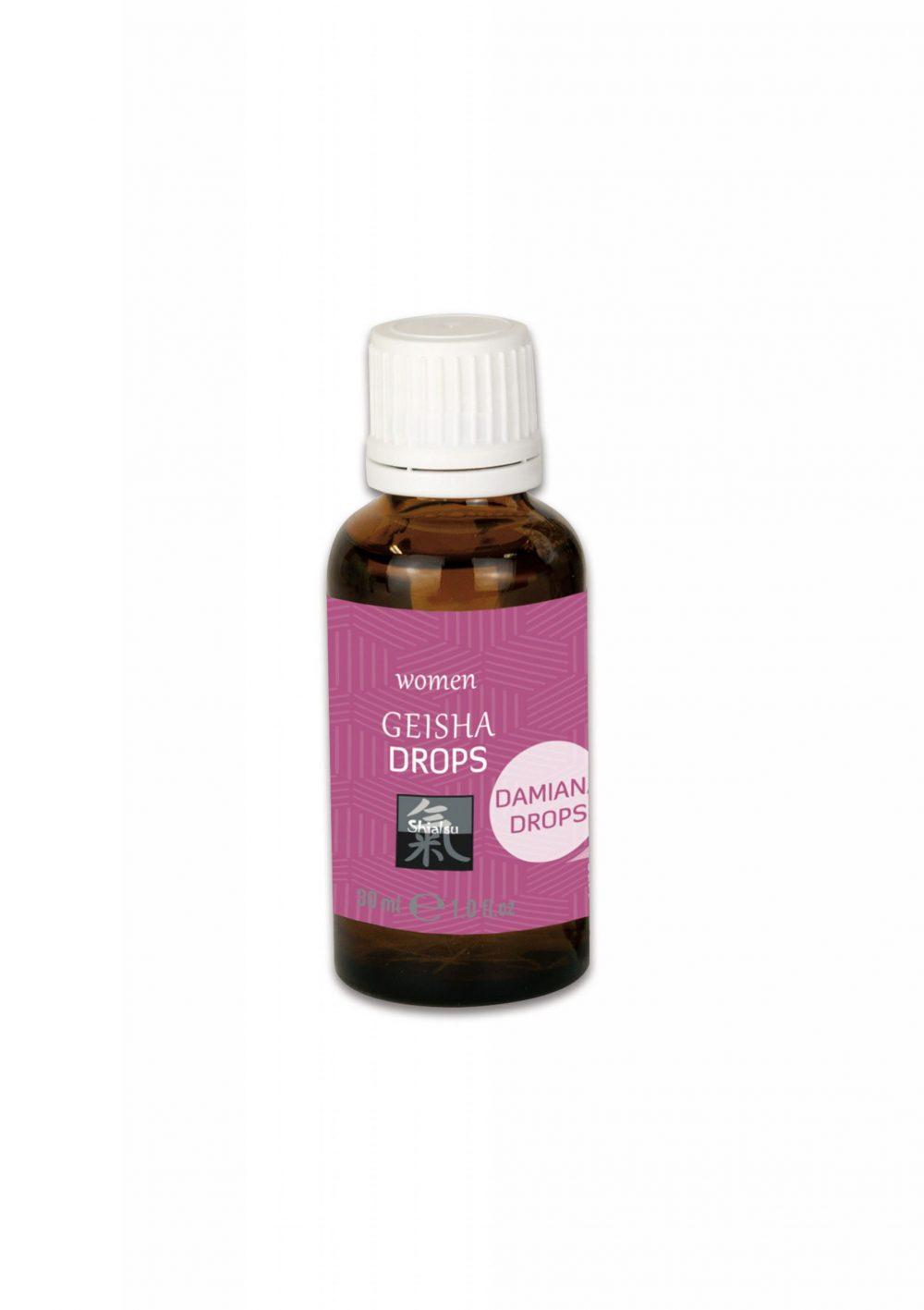 Geisha Drops - kapi za žene, 30 ml