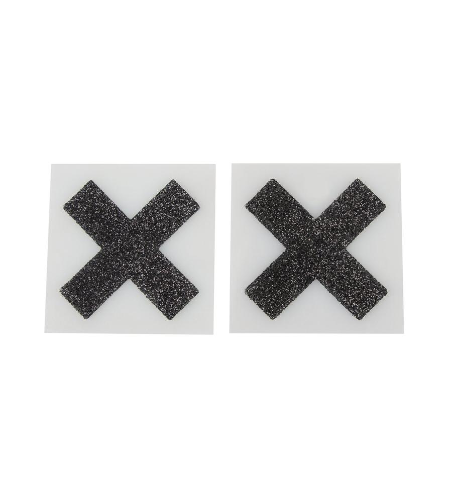 Cottelli Accessories Nipple Stickers - ukrasne naljepnice za grudi