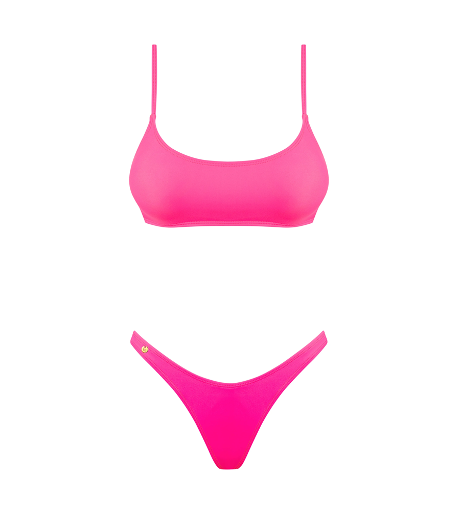 Obsessive Mexico Beach Pink - bikini; grudnjak i gaćice