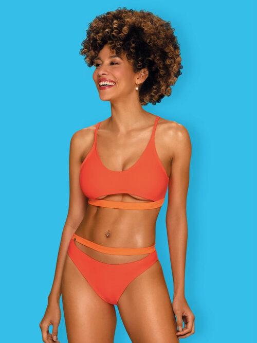Obsessive Miamelle Tangerine - bikini; grudnjak i gaćice