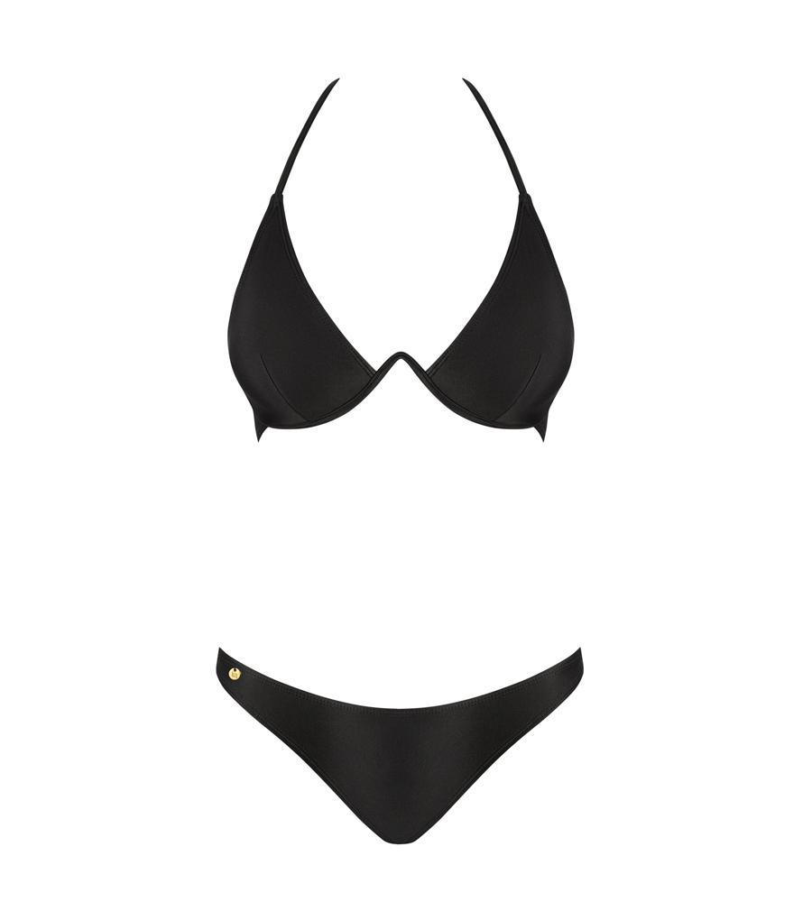 Obsessive Paralia Black - bikini; grudnjak i gaćice