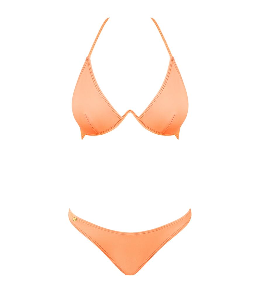 Obsessive Paralia Coral - bikini; grudnjak i gaćice, koraljne boje