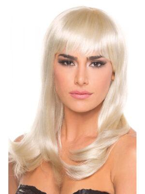 Bewicked Hollywood Wig Blonde - blonde perika sa šiškama