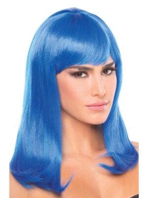 Bewicked Hollywood Wig Blue - plava perika sa šiškama