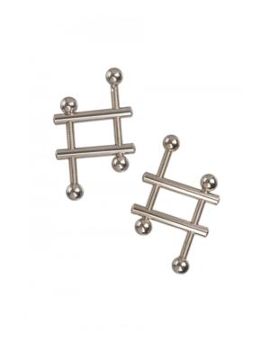 CalExotics Crossbar Nipple Vices - štipaljke za bradavice u obliku ljestva