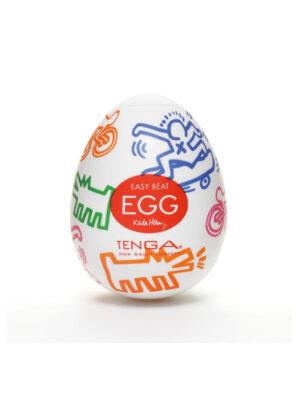 Tenga Egg Keith Haring Street - masturbator
