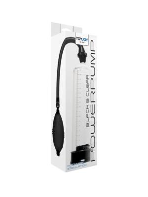 ToyJoy Power Pump - penis pumpa, crna