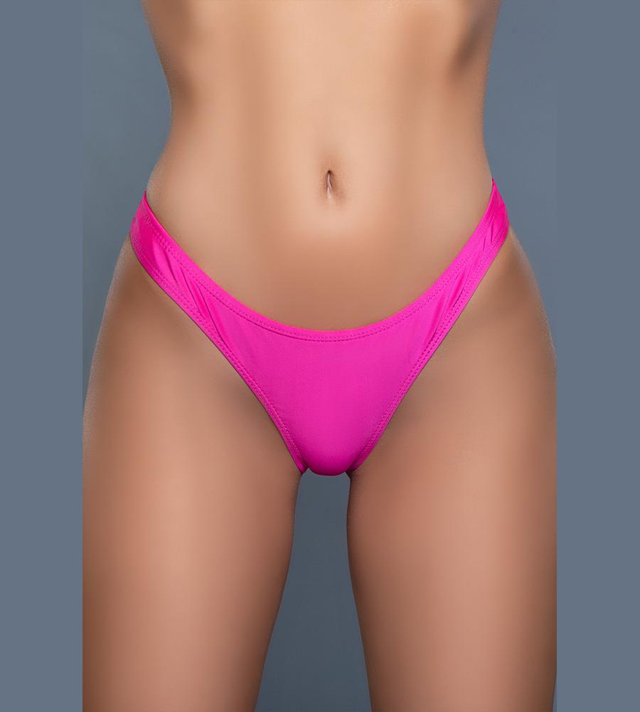 Reese Sexy Bikini Bottom Pink - kupaće gaćice, ružičaste