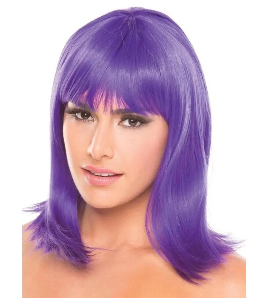 Bewicked Doll Wig Purple - ljubičasta perika sa šiškama