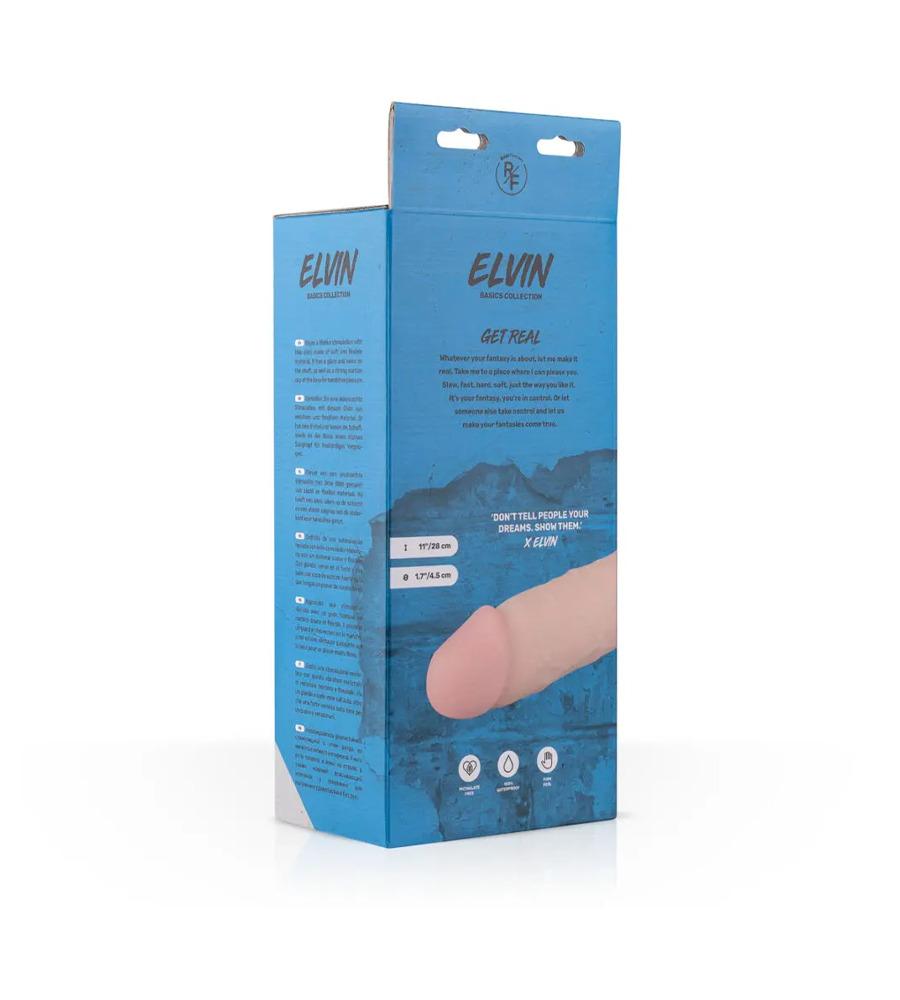 Real Fantasy Elvin Realistic Dildo - dildo, PVC, 27.5 cm