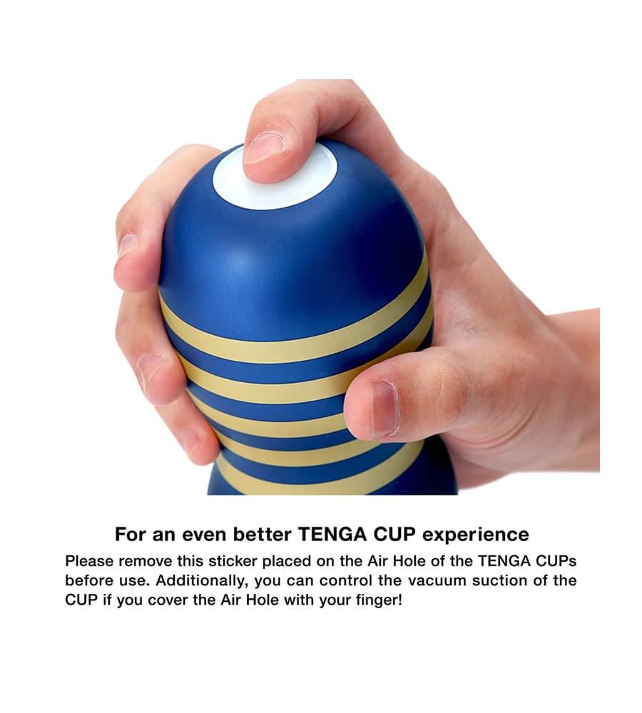 Tenga Premium Original Vacuum Cup - masturbator s lubrikantom