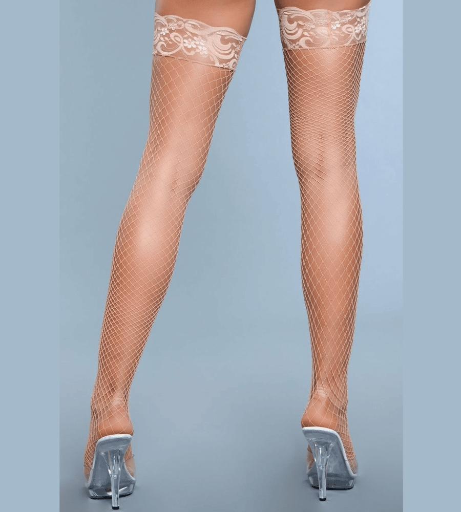 Be Wicked Amber Nude - čarape za haltere
