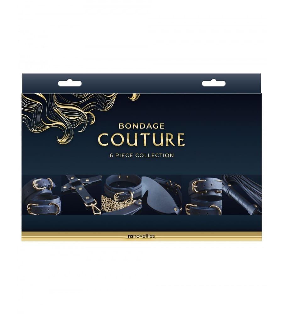 Bondage Couture 6-Piece Kit - 6-dijelni BDSM set