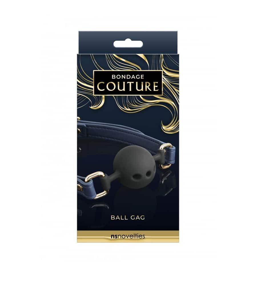 Bondage Couture Ball Gag - kuglica za usta