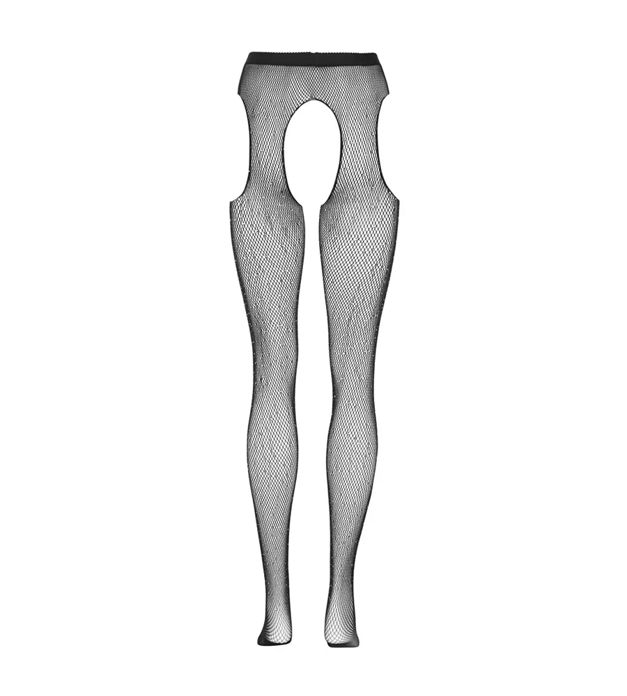 Cottelli Collection Suspender Tights - Ouvert čarape