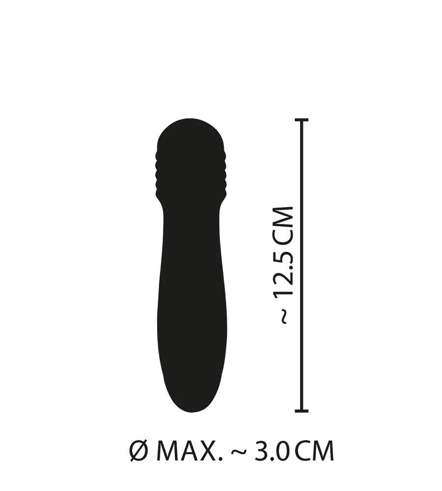 Cuties Mini Green Vibrator - silikonski mini vibrator, 12,5 cm