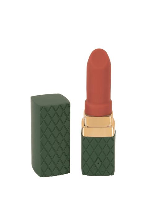 Emerald Love Lipstick - luksuzni masažer, 8,5 cm