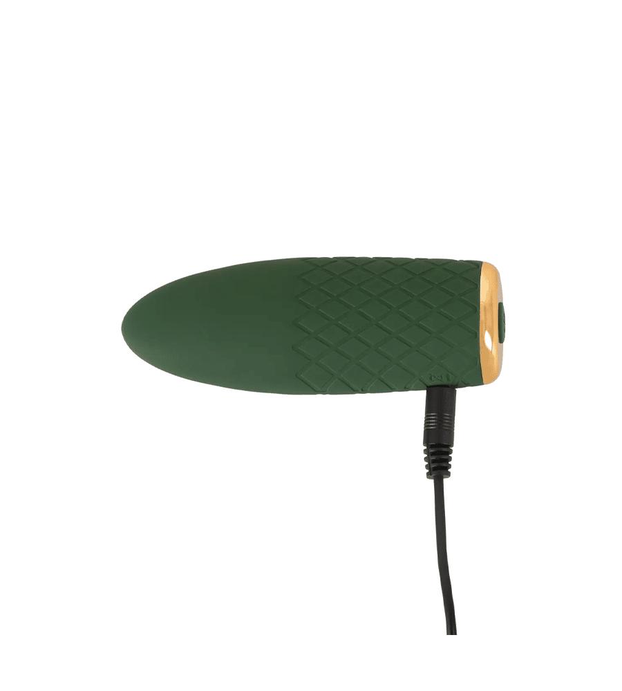 Emerald Love Mini - luksuzni masažer, 11,5 cm