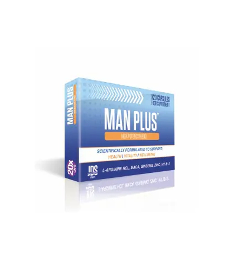 Man Plus - kapsule za libido, 20 kom