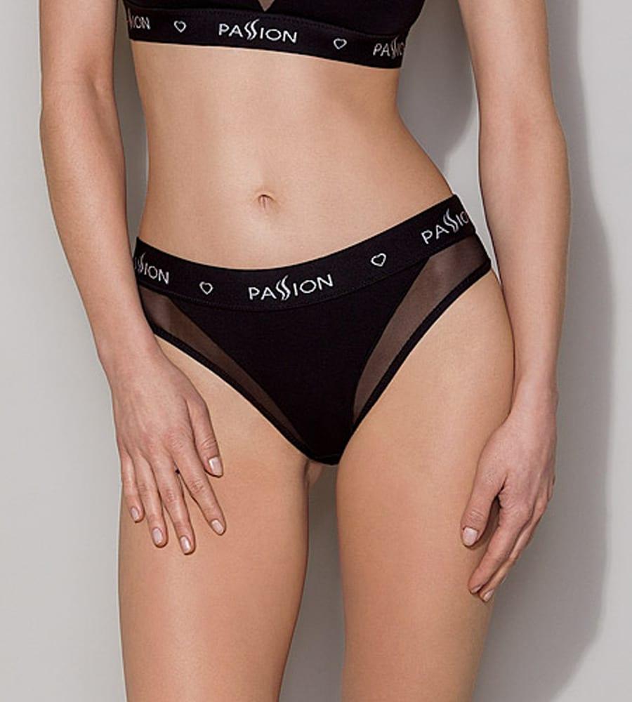 Passion PS002 Panties Black - sportske gaćice