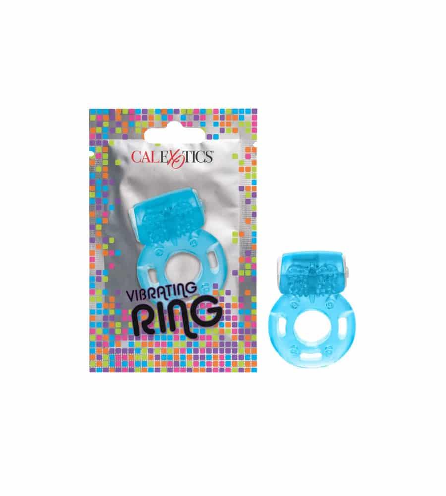Vibrating Cock Ring - vibrirajući penis prsten, plave boje