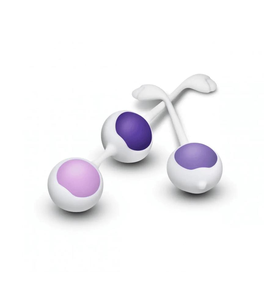 Wellness Kegel Training Set Purple - set vaginalnih kuglica