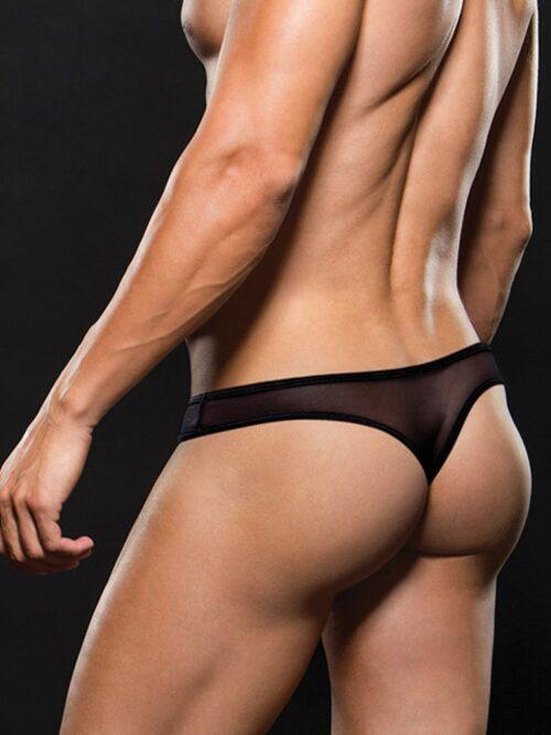 Envy Mesh Pants Black - muške gaćice, crne