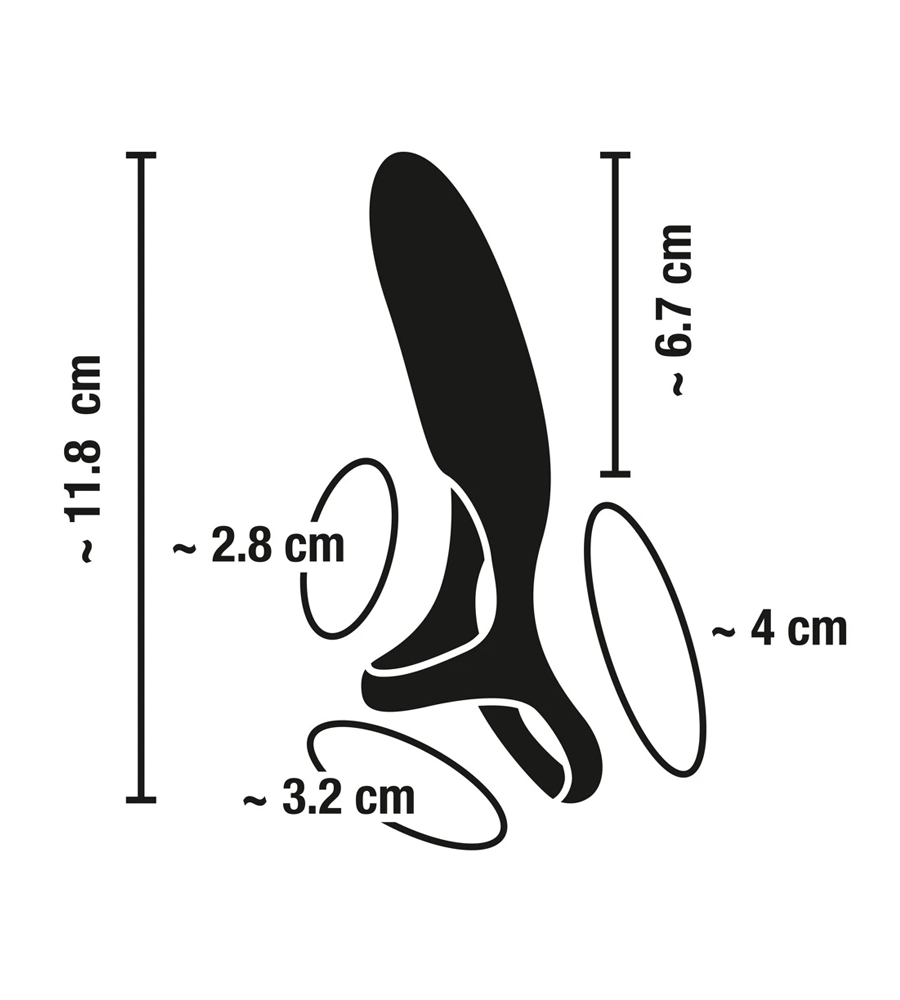 Sweet Smile Vibrating Couples Ring - vibrirajući penis prsten